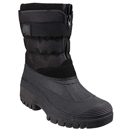 Cotswold Womens/Ladies Chase Touch & Zip Fastening Padded Winter Boots