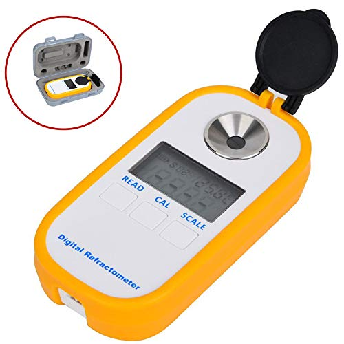 LCD digitale Brix-refractometer, professionele vruchtensapdrankentester, nauwkeurige concentratie-refractometer voor honing, bier, wijn, vruchtensap, suiker, homebrew(#1)