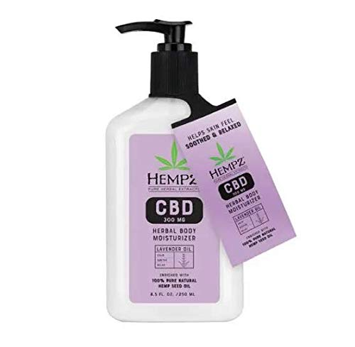 Hempz Herbal Body Moisturizer Lavender Oil - 8.5oz