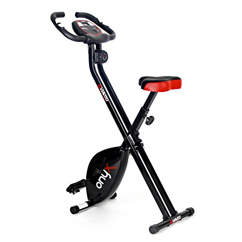 Viavito Onyx Folding Exercise Bike - Black