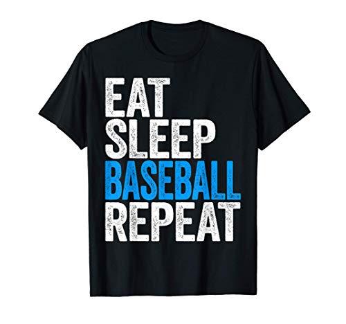 Eat Sleep Baseball Repeat T-Shirt T-Shirt