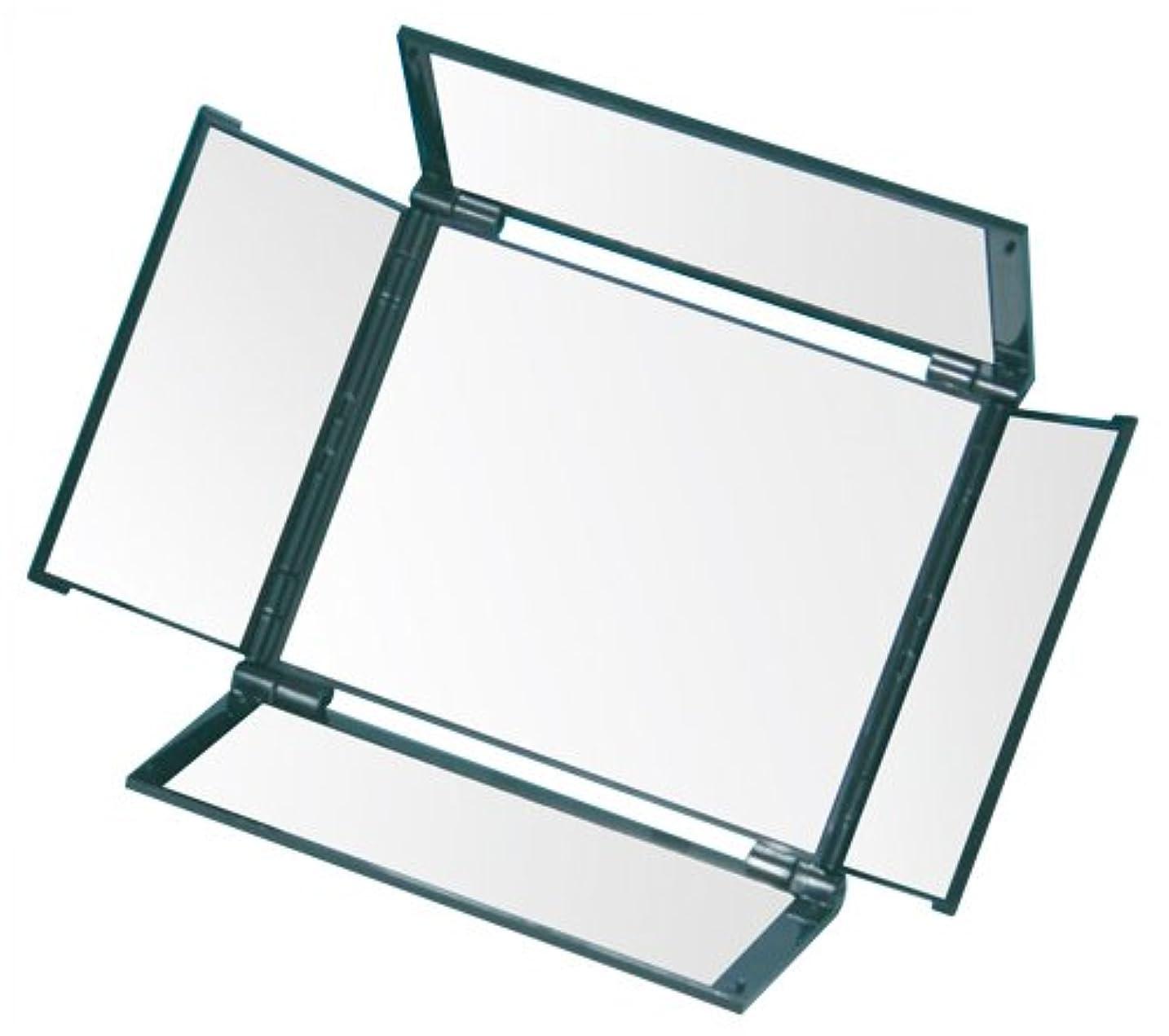 ユーザー洞察力のある合理的オールラウンドミラー(5面鏡) HA-5 メタリックブラック