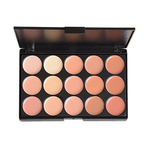PhantomSky 15 Couleurs Palette de Maquillage Correcteur Camouflage Crème Cosmétique Set #2 - Parfait pour une utilisation professionnelle et quotidien