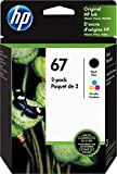 HP 67 | 2 Ink Cartridges | Black...