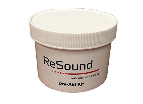 ReSound GN Hearing Aid Dehumidifier Jar with Microweable Desiccant