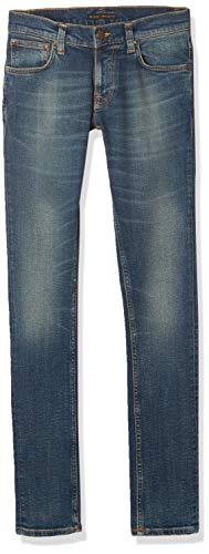 Nudie Jeans Unisex-Erwachsene Tight Terry Dark Beach Jeans, Dunkler Strand, 28W x 34L