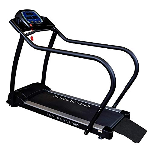 Body-Solid Endurance T50 Walking Treadmill for Low Impact Exercises and Rehabilitation