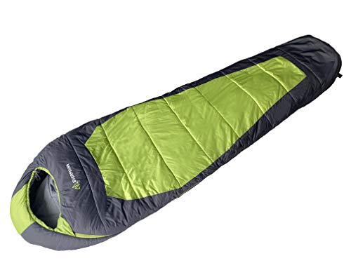 Evermann Sleeping Bag I Tundra -20° I Bolsa de Dormir I Saco de Dormir I Ligero y Compacto I Impermeable I Temperaturas de hasta -20° I Bolsa de Compresión