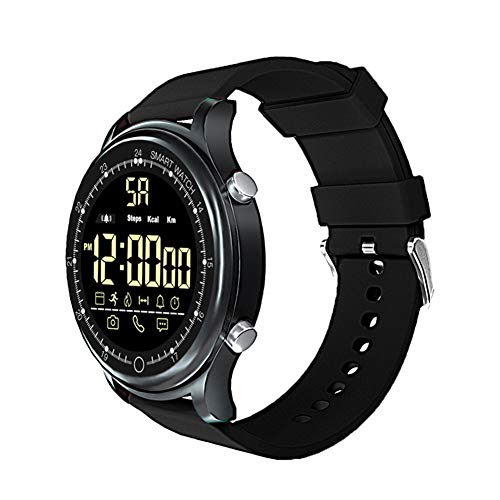 NACHEN Bluetooth Smart Horloge Pols Smartwatch Fitness Tracker Met Stappenteller Stopwatch timing Voor Mannen Vrouwen