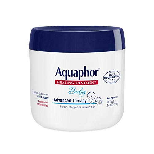 Aquaphor Baby Healing Ointment Advanced Therapy 14 Ounce Jar New Born Lotion