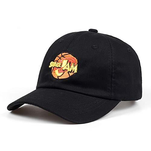 SunAll Baseballm/ütze Hip Hop-Kappe Outdoor Sport Hut Jordans Film Space Jam Baseballm/ütze Mode Curved Chapeau Dad Hut-Hysteresen-Hip Hop-Knochen-M/änner Frauen