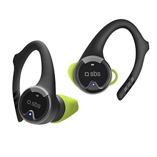 SBS Bluetooth Kopfhörer kabellos in Ear - Wireless Kopfhörer 5h Laufzeit, IPX5 spritzwassergeschützt, Mikrofon, Bügel & Ladebox - Funkkopfhörer für Apple iPhone Handy PC - Drahtlose Kopfhörer