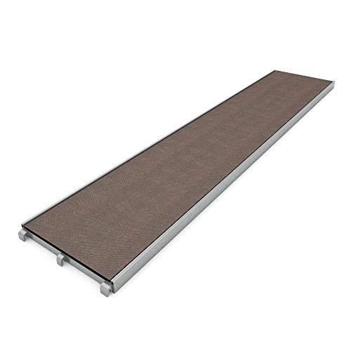 Arbeitsbühne Gerüstbohle Robustboden Alurahmentafel Arbeitsplattform assco quadro 3,07m x 0,61m