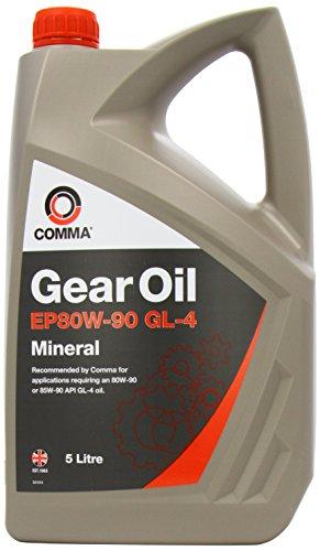 Comma GO45L - Aceite Mineral para Cajas de Cambios (80W-90, 5 l)