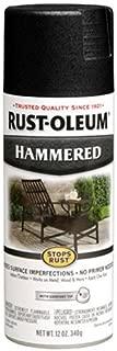 Rust-Oleum 7215830 7215-830 Spray Paint, Each, Black