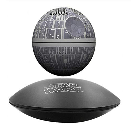 CoolTing originalen Star Wars Todesstern maglev Bluetooth Stereo Lautsprecher 360 Grad drehung,Schwarz