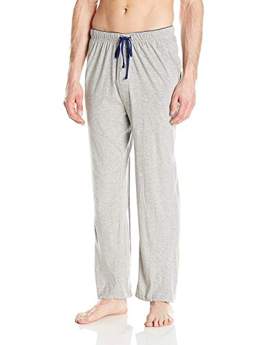 Hanes Men s Solid Knit Sleep Pant, Grey, XX-Large