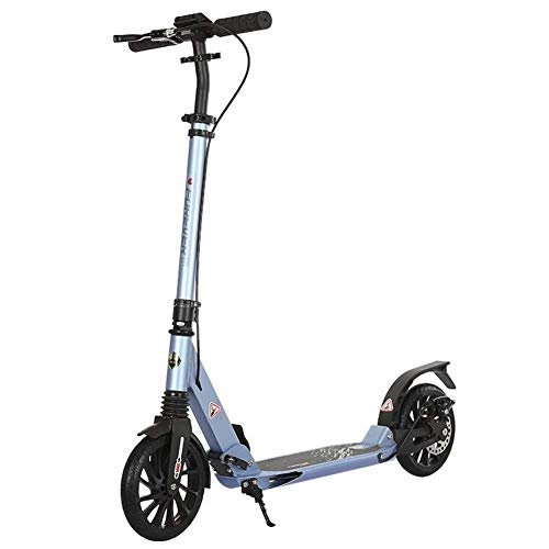 Why Should You Buy GUOYUN Light Weight Adult City Push Kick Scooter with Large 400MM Wheels, City Co...
