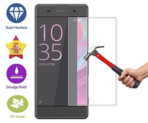 IM@X Protector DE Pantalla Premium Cristal Vidrio Templado 9H para Sony Xperia...