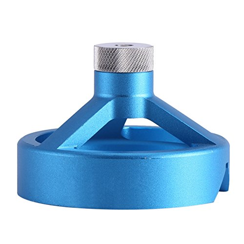 Guía de guía de broca autocentrante, bujes de taladro de 6/7/8/9 / 10mm Taladros verticales para madera Taladro de mano eléctrico(Azul)