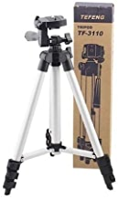 WIDELOOP Flexible Octopus Foldable Tripod for Camera, DSLR and Smartphones with Mobile Attachment,Tripod for Mobile Phone,Tripod Stand for Phone and Camera,Mobile Tripod Stand (White & Black)