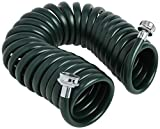 Plastair SpringHose PUWE625B94H-AMZ Light EVA Lead Free Drinking Water Safe Recoil Garden Hose, Green, 3/8-Inch by 25-Foot