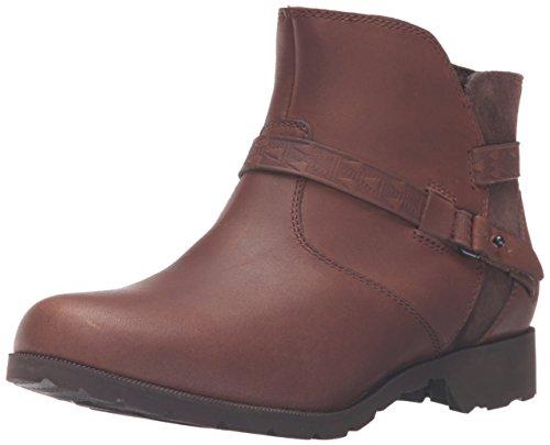 Teva Damen Delavina Ankle - Mosaic Kurzschaft Stiefel, Braun (Brown- BRNBrown- Brown), 37 EU