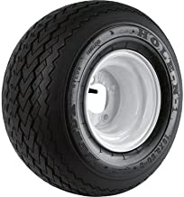Golf Cart and Tractor Replacement Tire Assembly - 18 x 8.50-8, Sawtooth