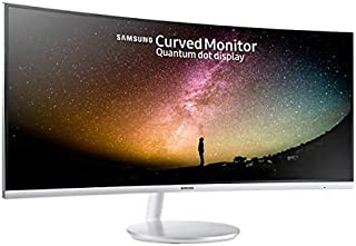 Samsung 34 inch Full HD Curved Monitor with Quantum Dot Technology - SM-LC34F791WQM