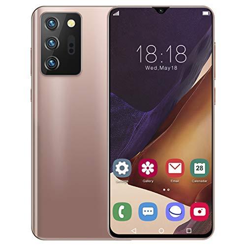Smart Phone, Note21U Cellulare Android da 6.26 pollici con sblocco facciale, Dual Card Dual Standby e 480 * 1014 ad alta definizione per schermo Waterdrop 1 + 8G per Android 6.0 100‑240V B(Spina UE)