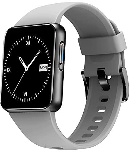 Weofly Smartwatch, Reloj Inteligente con Impermeable 5ATM, 1.4' Pulsera de Actividad para Hombre...