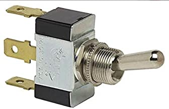 NEW HD TOGGLE SWITCH COLE HERSEE 55016-06 3 TERM SPDT SILVER CONTACTS ON-OFF-ON