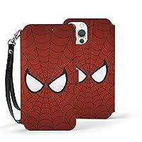 Kingsleyton スパイダーマン マーベル 手帳型ケース Iphone 12 多サイズ ケース ウォレットケース 多機能カード収納 機能ケース 人気 おしゃれ IP12-6.1
