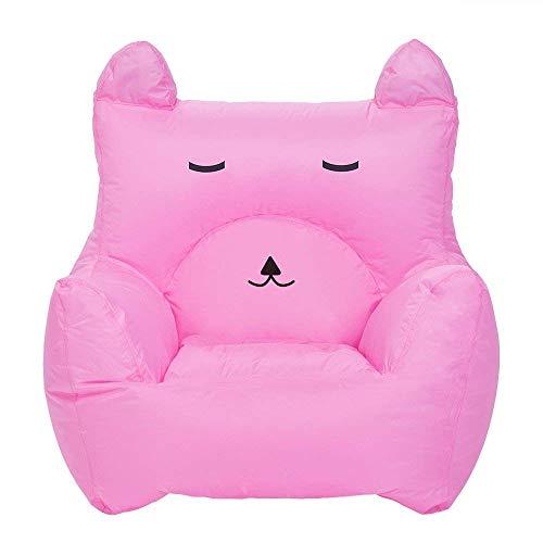 OaLt-t Aufblasbares Sofa faul Sofa Luft Schlafsofa Wilde tragbare Mittagspause Liege aufblasbares Sofa (Color : Pink)