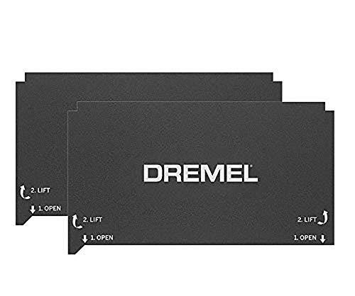 Dremel 3D-Drucker 3D40 Flex Druckmatte (2 Druckmatten, für DigiLab 3D-Drucker 3D40 FLEX)