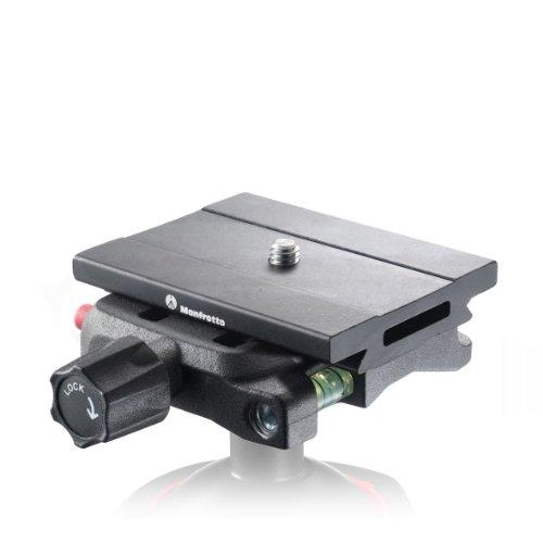 Manfrotto MSQ6 Top Lock Schnellwechseladapter, Arca schwarz