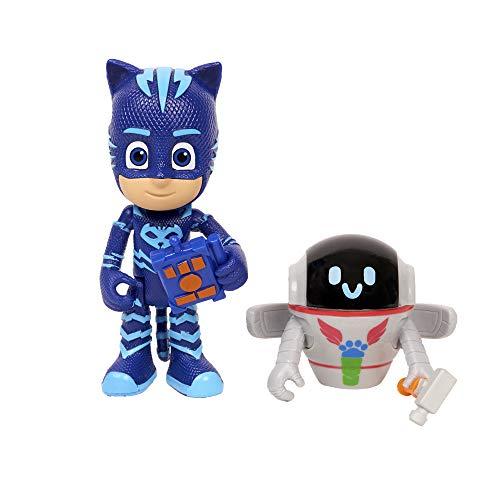 PJ Masks – Pack mit 2 Figuren (Katuna und PJ Robot)