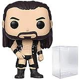 WWE: Figura de vinilo Drew McIntyre Funko Pop! (incluye funda protectora compatible con caja de pop)