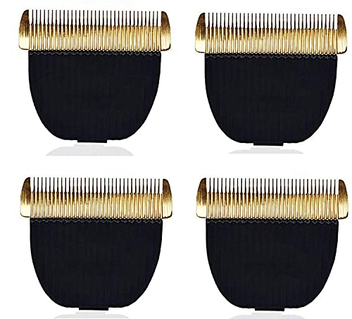 KITTY FLEX Trimmer Blade for Showmate Horse and Dog Trimmer Professional Grooming Pet Hair Clipper, Cat Dog Accessory for All Pets Trimmer Pack of 4
