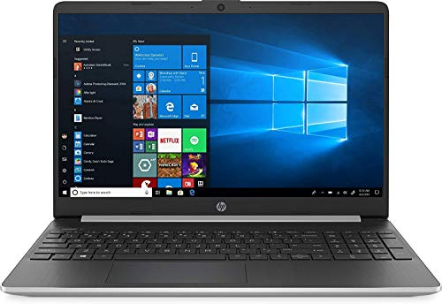 2020 Newest HP 15.6' HD Touchscreen Laptop Intel Core i3-1005G1 8GB DDR4 RAM 256GB SSD HDMI Bluetooth 802.11/b/g/n/ac Windows 10 Silver 32GB Tela USB Card