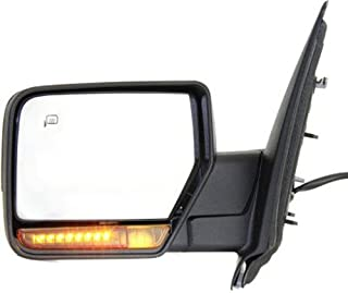 Crash Parts Plus Driver Side Textured Black Heated Mirror for 2007-2010 Ford Expedition