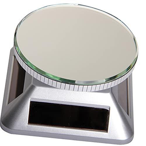 Harilla 360 Rorated Solar Display Stand Halter Plattenspieler Uhr...