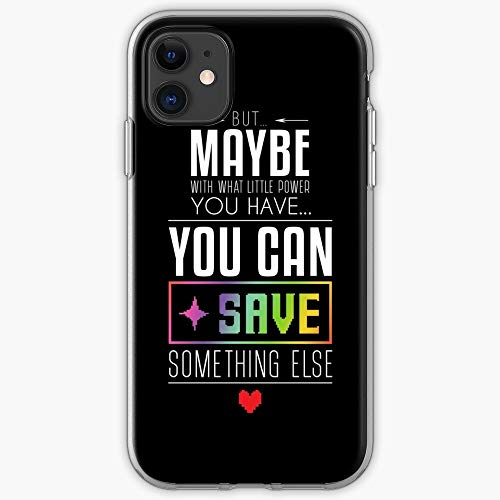 Black and Undertale Typographic Games Frisk Boss White Asriel Pc I Fsgfancy - Phone Case for All of iPhone 12, iPhone 11, iPhone 11 Pro, iPhone 7/8 / 10 /SE 2020… Samsung Galaxy I Customize