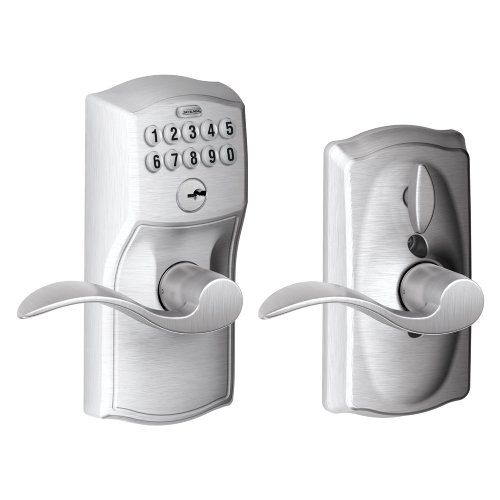 Schlage FE595 CAM 626 Acc Camelot Keypad Entry with Flex-Lock and...