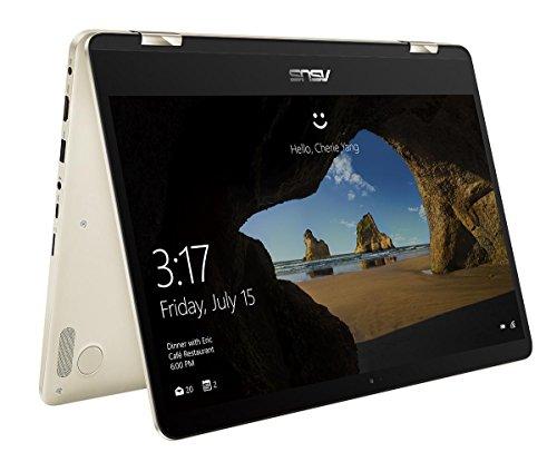 ASUS ZenBook Flip UX461UA Oro Ibrido (2 in 1) 35,6 cm (14') 1920 x 1080 Pixel Touch screen 1,60 GHz Intel Core i5 di ottava generazione i5-8250U