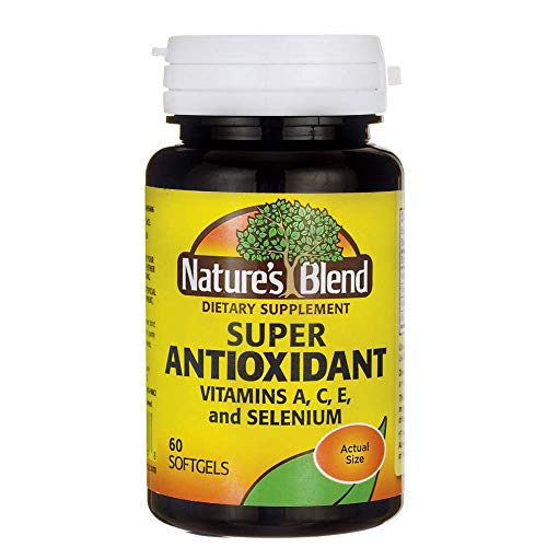 Nature#039s Blend Super Antioxidant Aces 60 Sgels