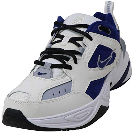 Nike M2K TEKNO, Zapatillas de Atletismo para Hombre, Multicolor (Sail/Deep Royal Blue/Wolf...