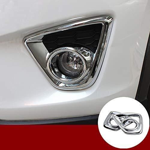 Auto-ABS Chrom Nebelscheinwerfer Blende Abdeckung Passend for Mazda CX-5 KE 2012-2014 Auto Kohlefaser liefert