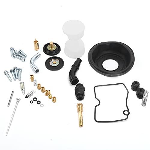 Kit de reconstrucción de carburador, kit de reconstrucción de carburador de motocicleta, piezas de reparación, suministro de combustible de motocicleta, herramienta de reparación de carburador para Ka