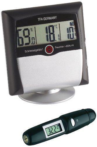 TFA 95.2008 Klima Control Set - Hygrometer + Infrarot-Thermometer